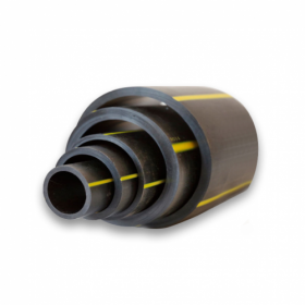 Polyethylene gas pipes